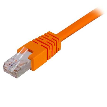 Cat6 F/UTP patchkabel 0,3m orange